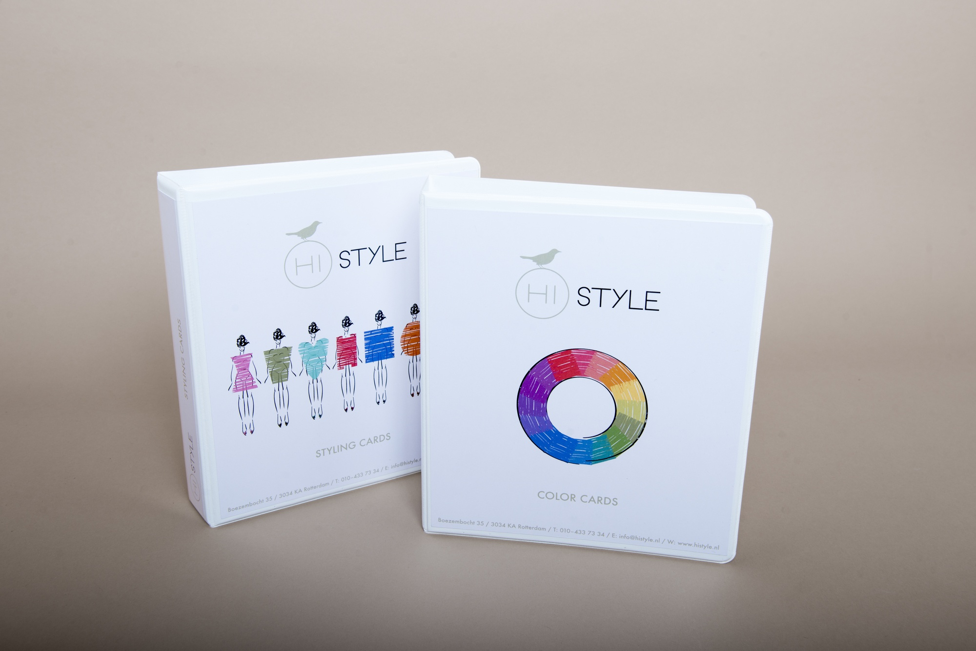 Hi Style colorcards materialen